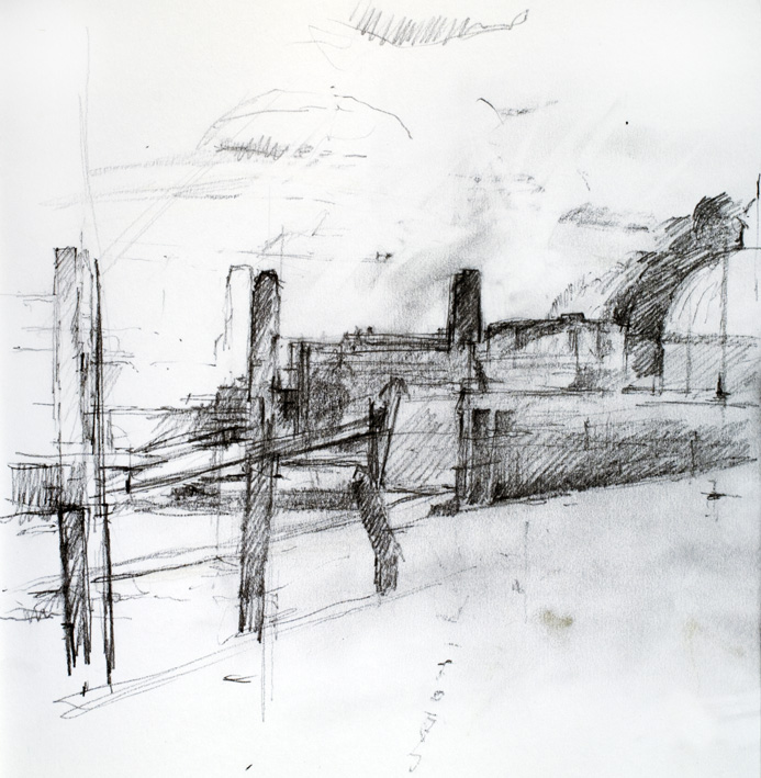 Artwork - Greenwich Sketchbook 2  Drawing | Stephen Robson -