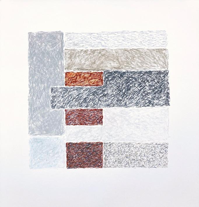 Artwork - Lock pastel  Drawing | Stephen Robson - pastel