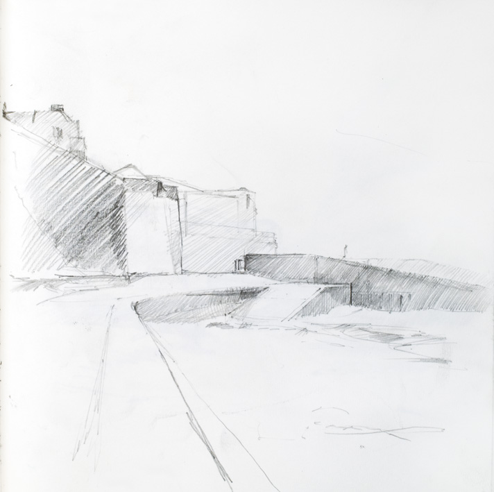 Artwork - Margate Sketchbook Graphite on paper Drawing | Stephen Robson - Graphite on paper