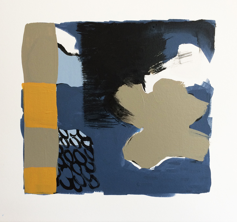 Artwork - Silver Lining acrylic on card Drawing | Stephen Robson | Buy Today! - acrylic on card