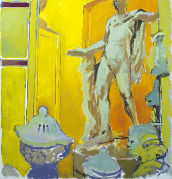 Artwork - Apollo oil and acrylic on canvas Painting | Stephen Robson - oil and acrylic on canvas