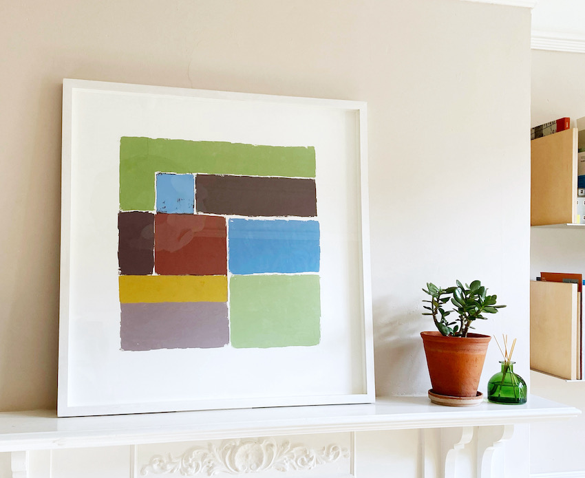 Artwork - Apple Green Oil on Paper Painting | Stephen Robson | Buy Today! - Oil on Paper
