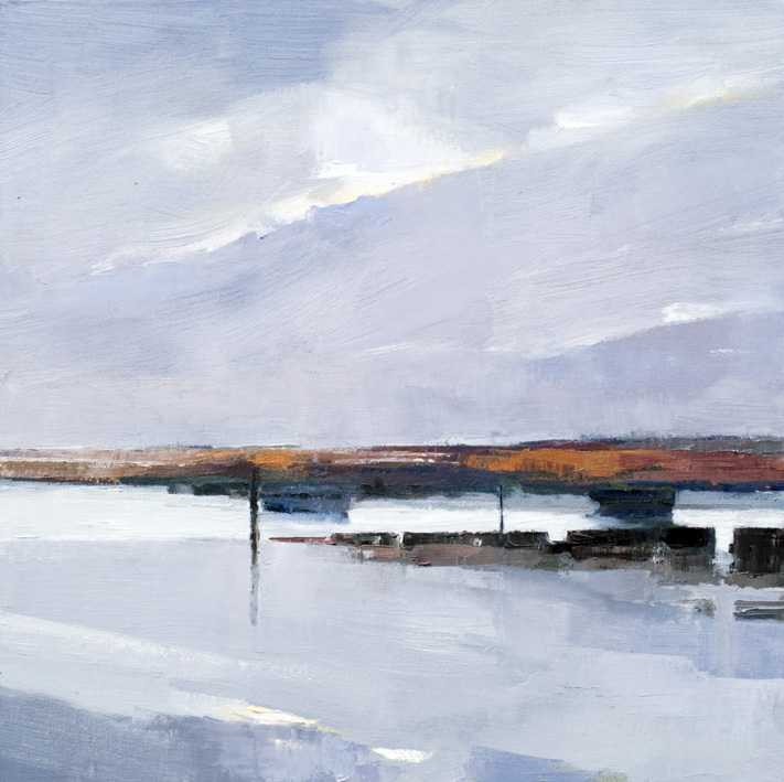 Artwork - Brancaster Morning Oil on Canvas Painting | Stephen Robson - Oil on Canvas