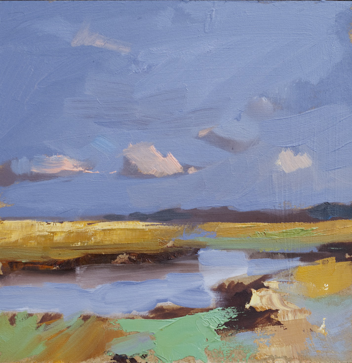 Artwork - Coast Path Oil on Board Painting | Stephen Robson - Oil on Board