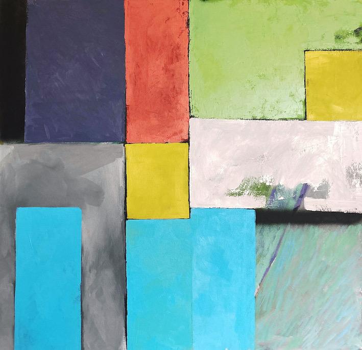Artwork - Dark To Light Oil on Canvas Painting   Stephen Robson - Oil on Canvas