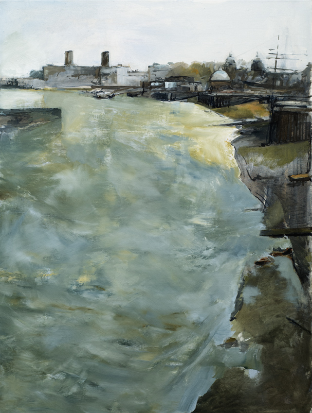 Artwork - Thames At Greenwich Oil on Canvas Painting | Stephen Robson - Oil on Canvas