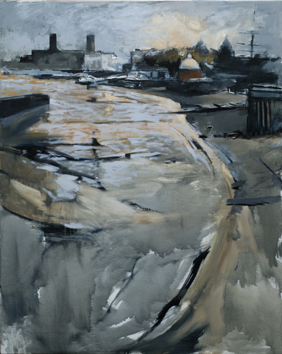 Artwork - Thames By Greenwich Oil on Canvas Painting | Stephen Robson - Oil on Canvas