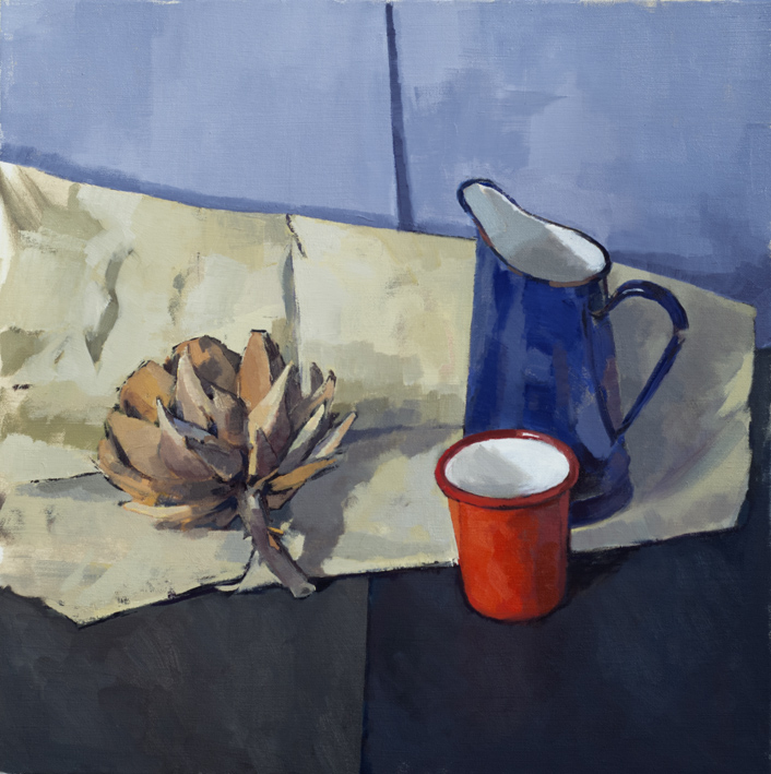 Artwork - The Red Cup Oil on Canvas Painting | Stephen Robson - Oil on Canvas