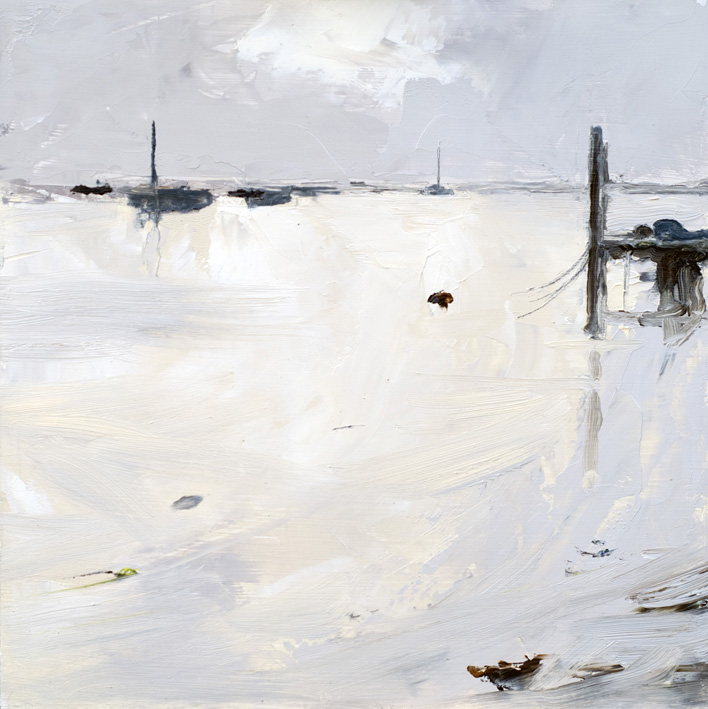 Artwork - Spring Tide (Wells) Oil on Board Painting | Stephen Robson - Oil on Board