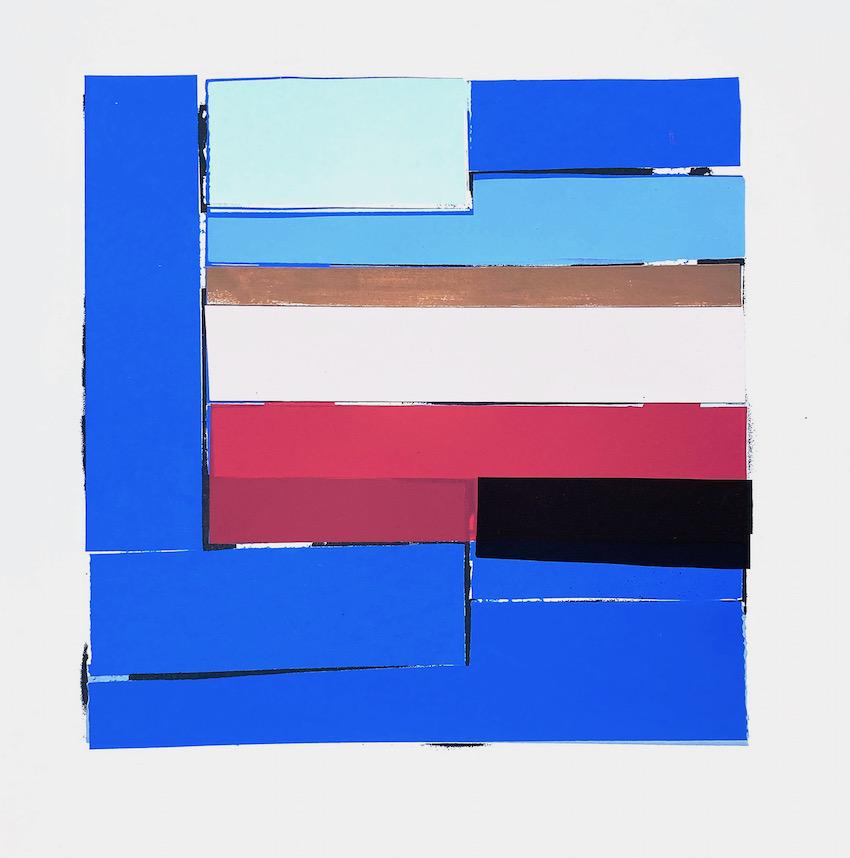 Artwork - Fen Collage screenprint Print | Stephen Robson | Buy Today! - screenprint