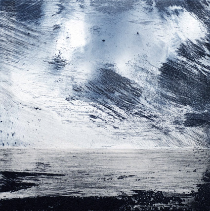 Artwork - Humber No.1 Etching and monoprint Print | Stephen Robson - Etching and monoprint