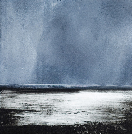 Artwork - Humber No.2 Etching and monoprint Print | Stephen Robson - Etching and monoprint