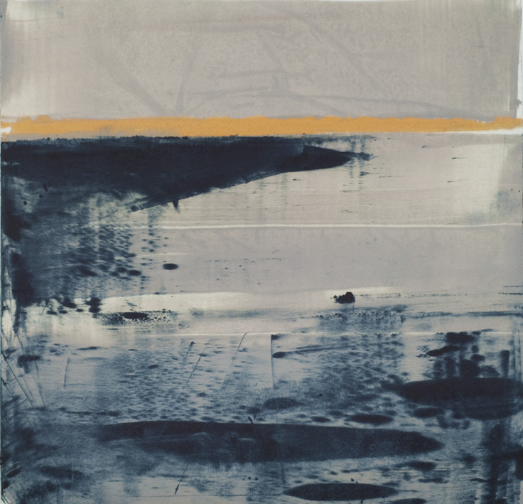 Artwork - Marsh 2 monoprint Print | Stephen Robson - monoprint