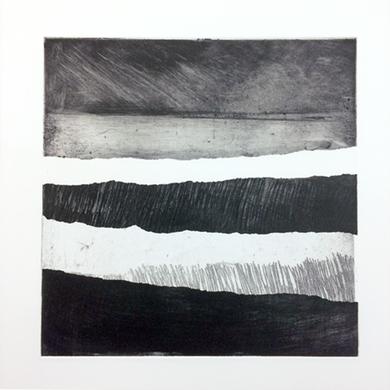 Artwork - North Sea Series etching Print | Stephen Robson | Buy Today! - etching