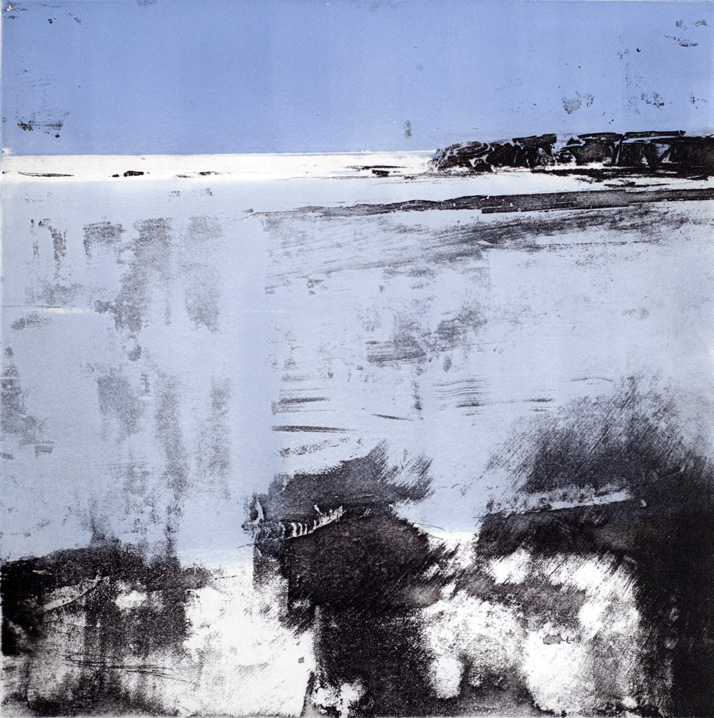 Artwork - Rye Bay Etching and monoprint Print | Stephen Robson - Etching and monoprint